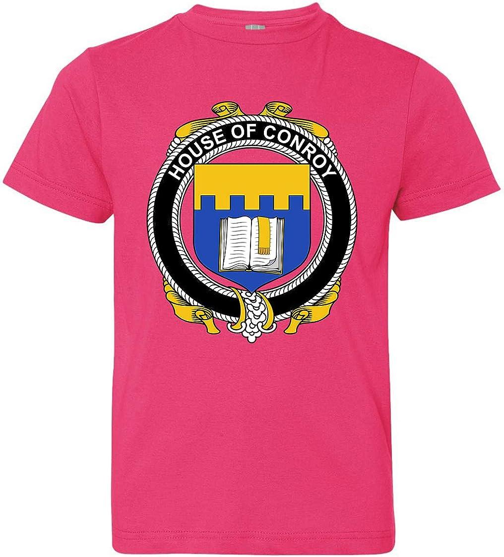 Tenacitee Boys Youth Irish House Heraldry Conroy T-Shirt