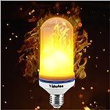 Yidarton Led Fiamma Light Fire Bulbs Lampada Led E27 Luce Lampadina 50W Lampade Decorative, Festival Decor (bianco-1pcs)