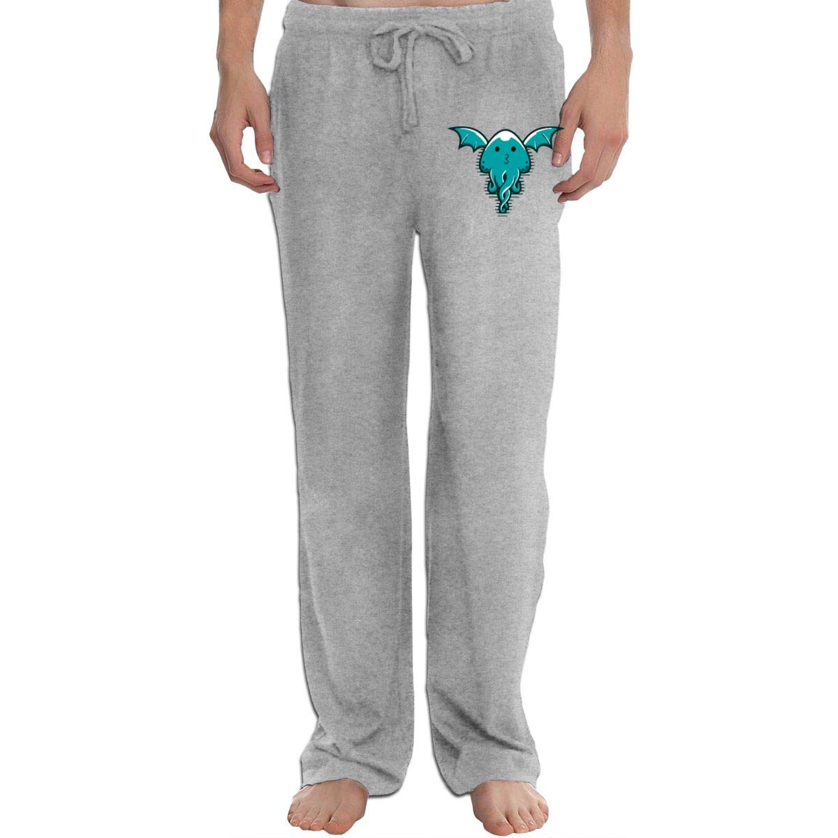 KWZ44 Funny Mens Sweatpants Extra Long CottonSleep Pants for Mans