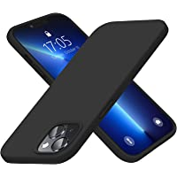 Elando Compatible with iPhone 13 Case, Liquid Silicone Shockproof Protective Slim Case with Anti-Scratch Microfiber…