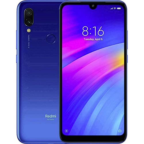 Xiaomi Redmi 7 15 9 cm 6 26 3 GB 32 GB SIM Doble 4G Azul 4000 mAh Smartphone 15 9 cm 6 26 1520 x 720 Pixeles 3 GB 32 GB 12 MP Azul