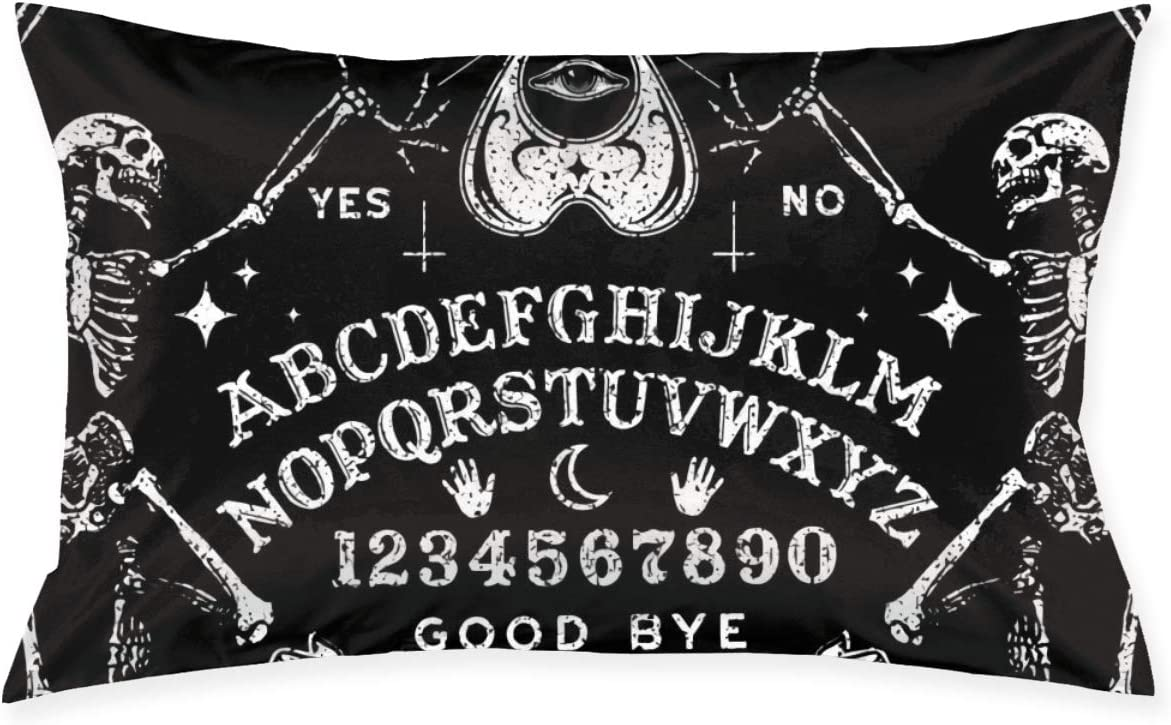 Tidyki Vintage Magic Ouija Board Family Pillow Covers Cushion Cover Square Throw Pillowcase for Decor Sofa House Bed Wedding 20 X 30 Inch