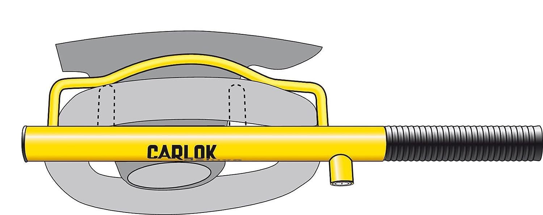 Gelb Kleinmetall Carlok Auto Diebstahlsicherung Lenkradkralle Absperrstange
