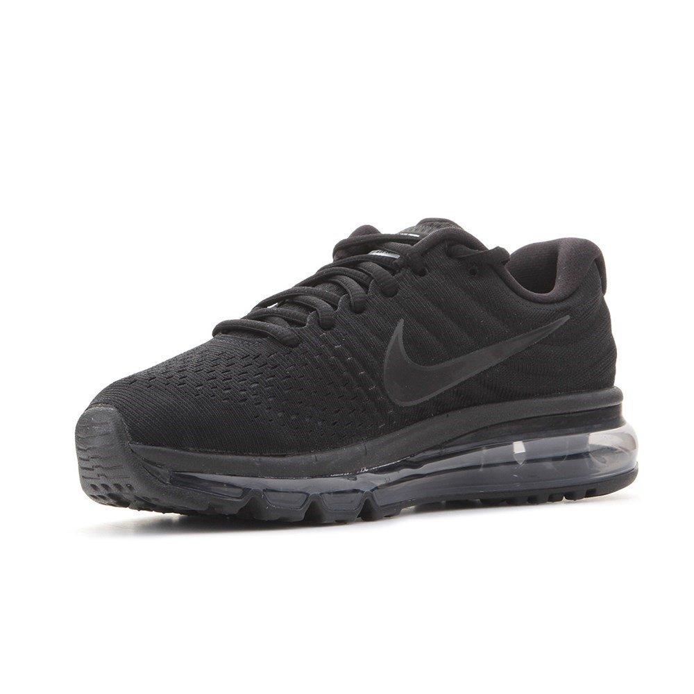 Nike Air MAX 2017, Zapatillas de Gimnasia para Mujer 39 EU|Negro (Black/Black/Black 004)