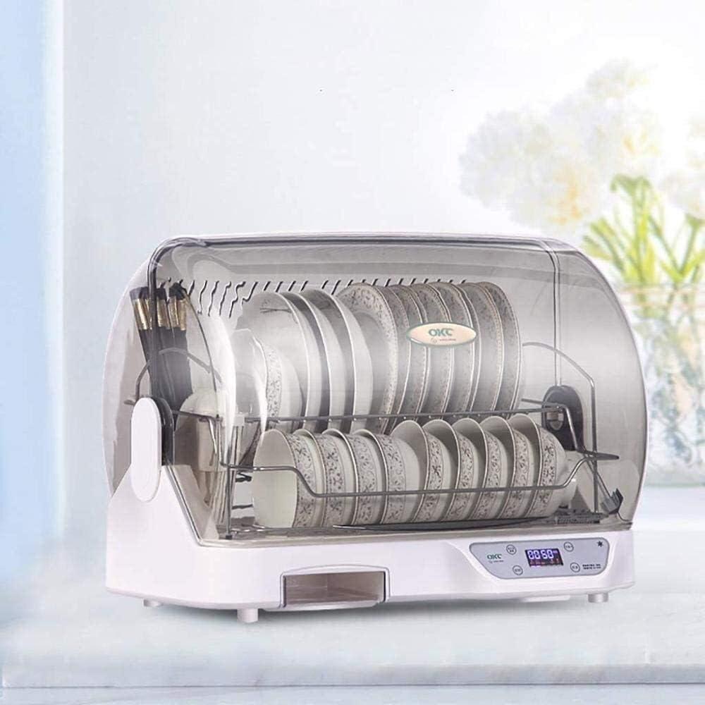 DYFYF La desinfección del hogar Armario de escritorio pequeño 250W Desinfección del gabinete, a prueba de plagas ya prueba de polvo vajilla de cocina secadora, hogar de Protección Ambiental de plástic