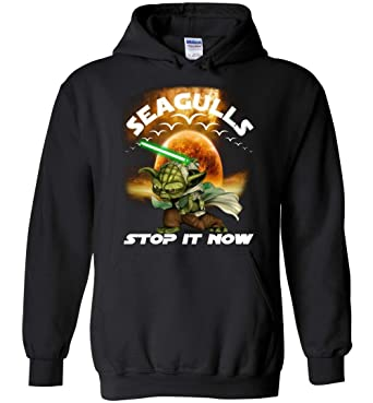 9d6295ea Seagull Shirt - Seagulls Stop It Now Hoodie Adult and Youth Size Black