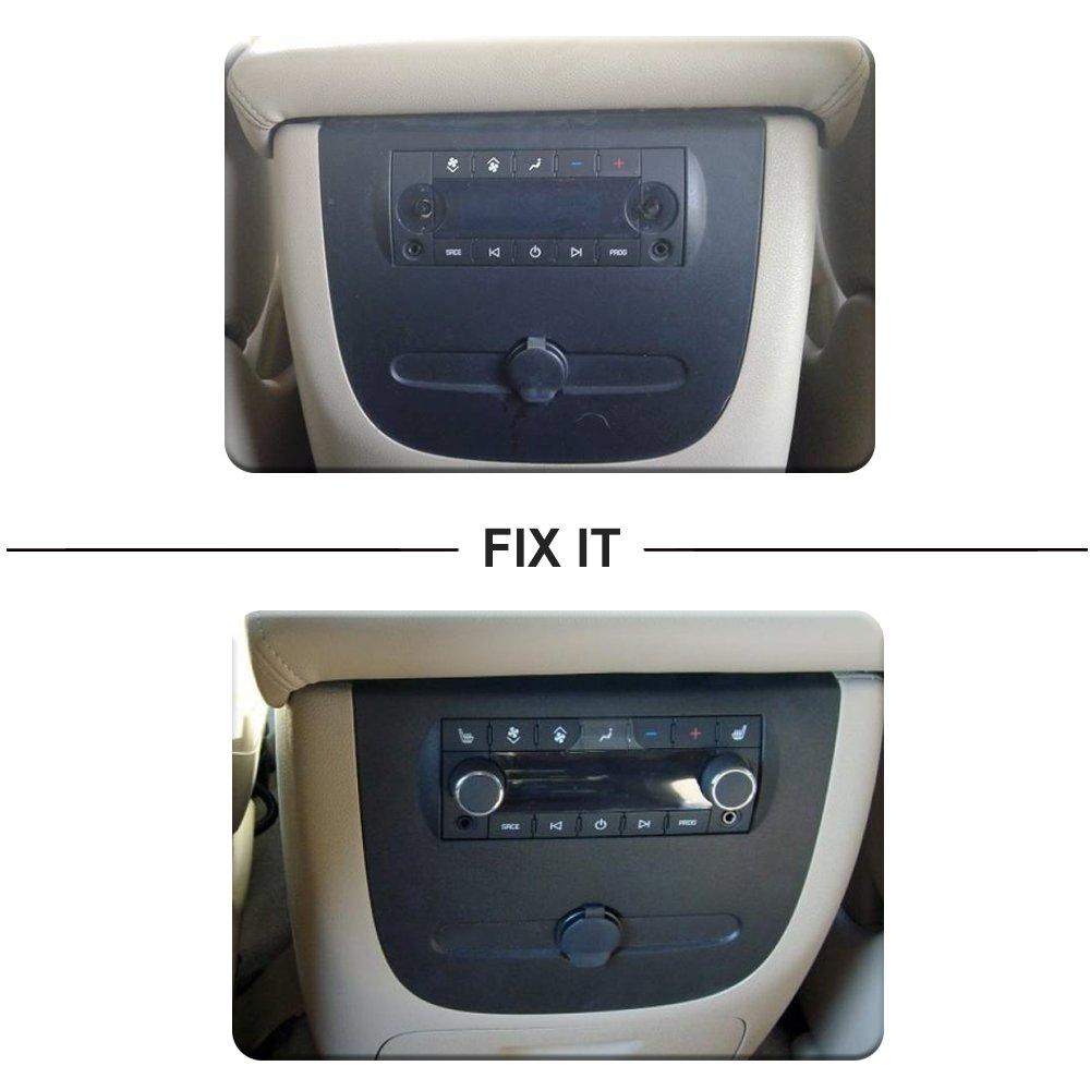 Rear Radio Volume Control Knob for 2007-2013 Chevy Tahoe Chevrolet
