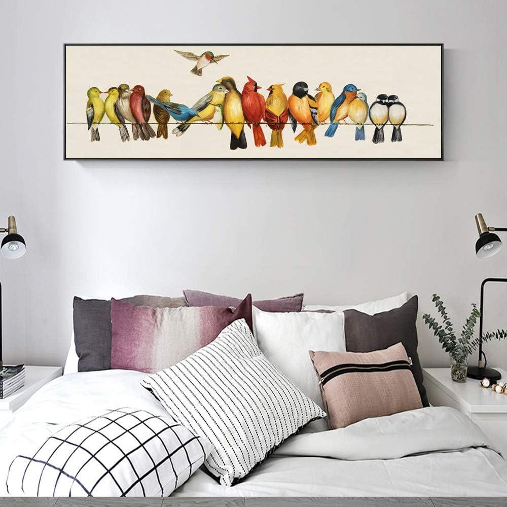 Animal abstracto lienzo arte pared pintura loro moderno ...