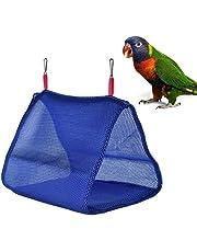 Volwco - Amaca per Uccelli Estiva in Rete Traspirante per pappagalli, pappagallini, parrocchetti, calopsitte, cacatua, conura, canarino, Lovebird, Scarpette a Strappo Voltaic 3 Velcro Fade - Bambini