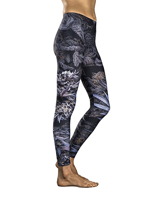 Violet Flame Kindstems - Cannabis Leggings for the Elegant and Discreet