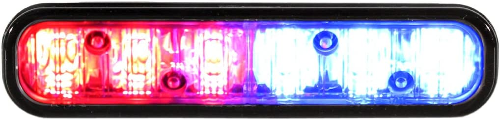 Whelen Engineering ION Series Super-LED Lighthead Red//Blue