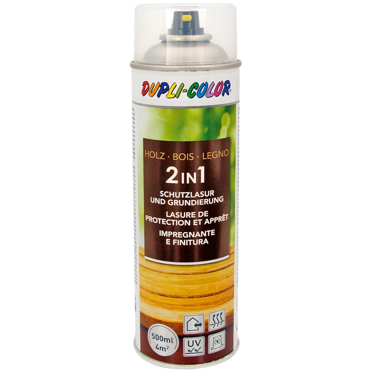 Dupli-Color 391545 Holzschutzlasur Transparent 500 ml MOTIP DUPLI GmbH
