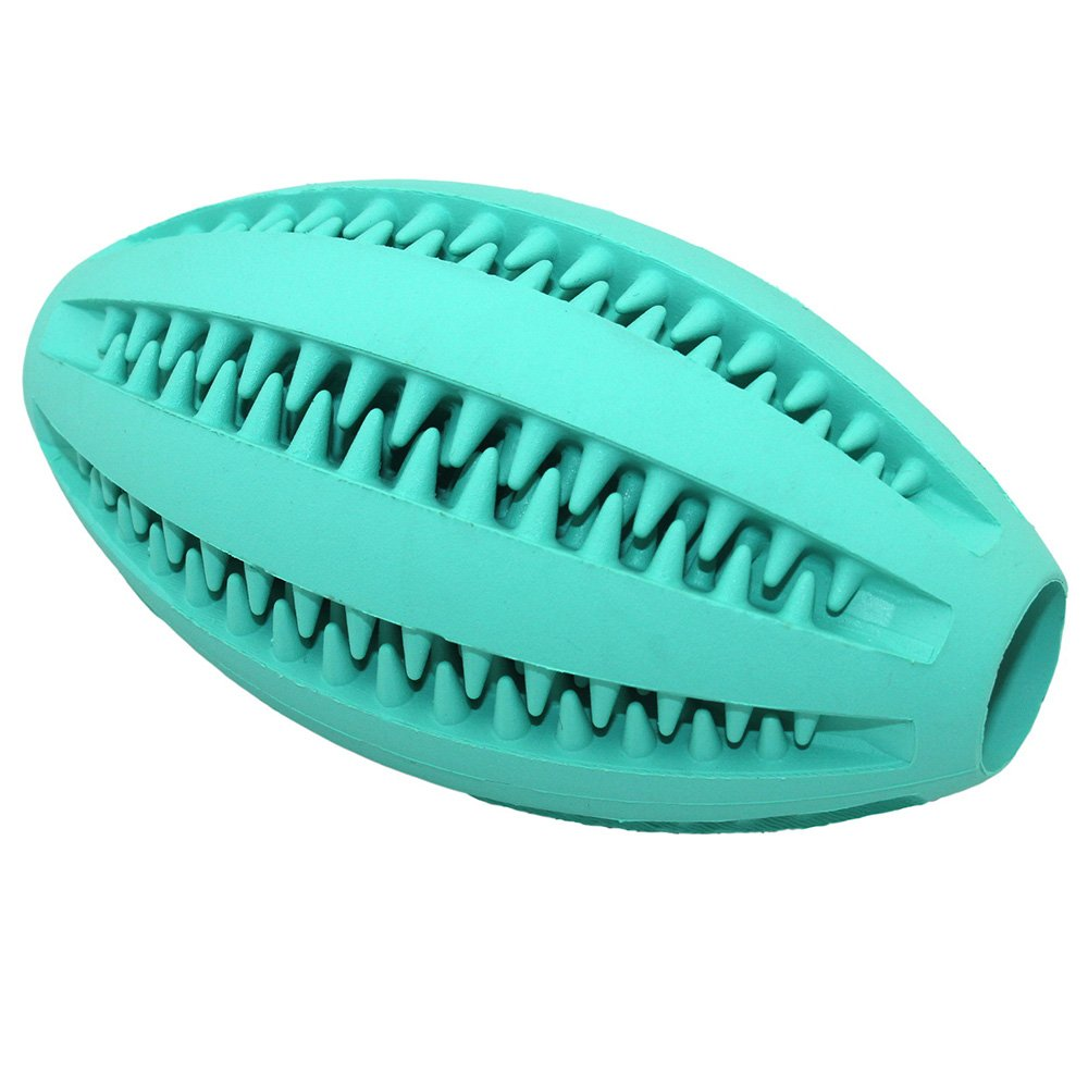 Langxian Dog Toy Ball, Nontoxic Bite Resistant Rubber Dog Tooth Chew Cleaning Interactive Toy IQ Training Ball,Suitable for Small Medium and Large Dogs