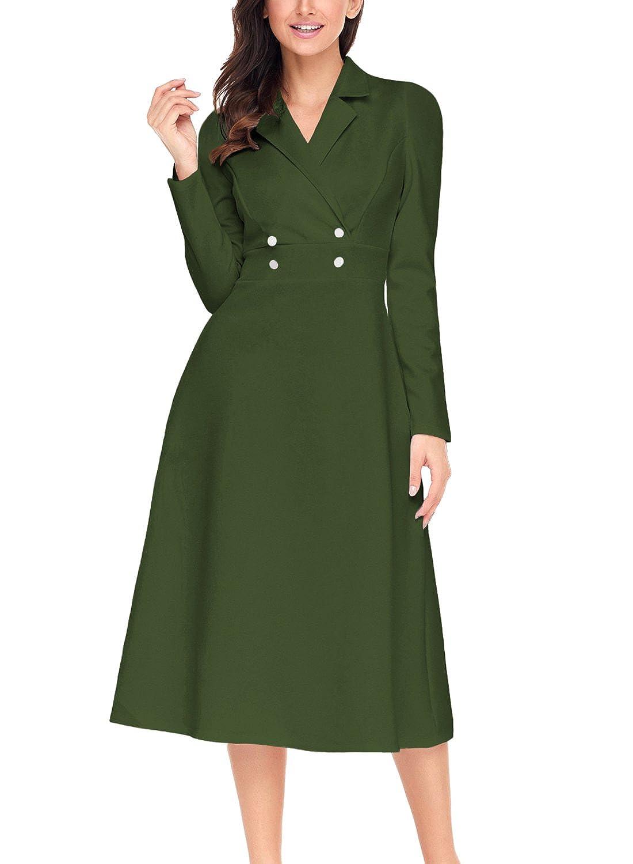Asvivid Damen Kleid