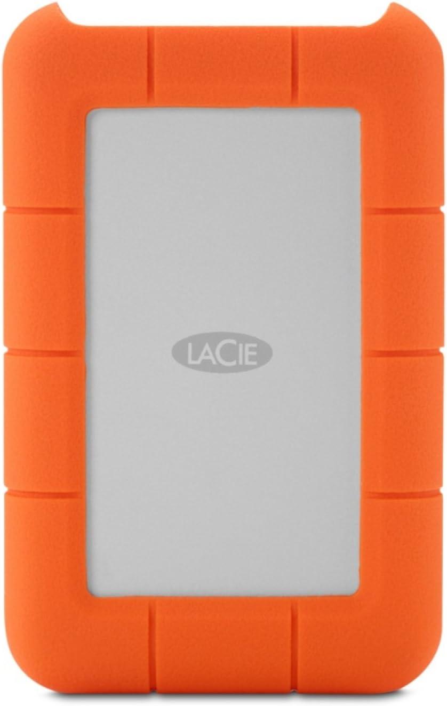 LaCie Rugged Raid - Disco Duro portátil para Mac y PC 4TB (2X 2TB ...
