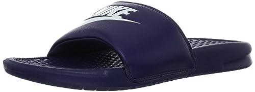23a00bc5635ce5 Nike Men s Benassi JDI Slide Sandal Midnight Navy Windchill 9 D(M ...
