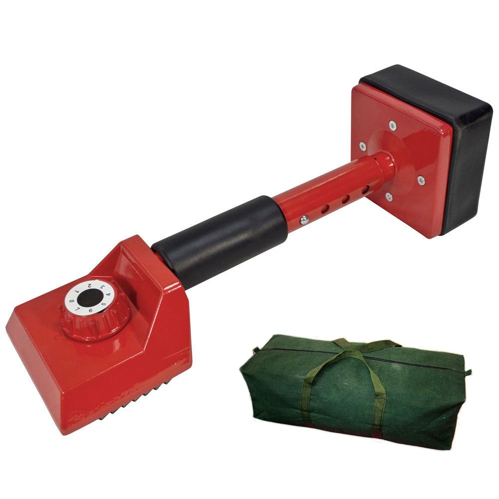 Voche Professional Carpet Fitting Knee Kicker - Red + Canvas Bag Voche®