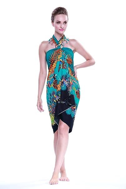 Amazon.com: Aloha Fashion - Pareo de mujer hawaiana tropical ...