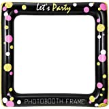 Amosfun Selfie Frame gonfiabile Selfie Frame Party Fun Photo Booth Puntelli Rifornimenti Del Partito Per Il Compleanno Baby Shower Wedding