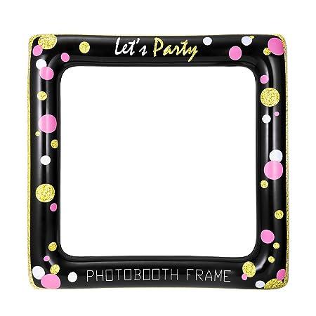 Luoem Aufblasbare Rahmen Selfie Photo Booth Requisiten Party Rahmen