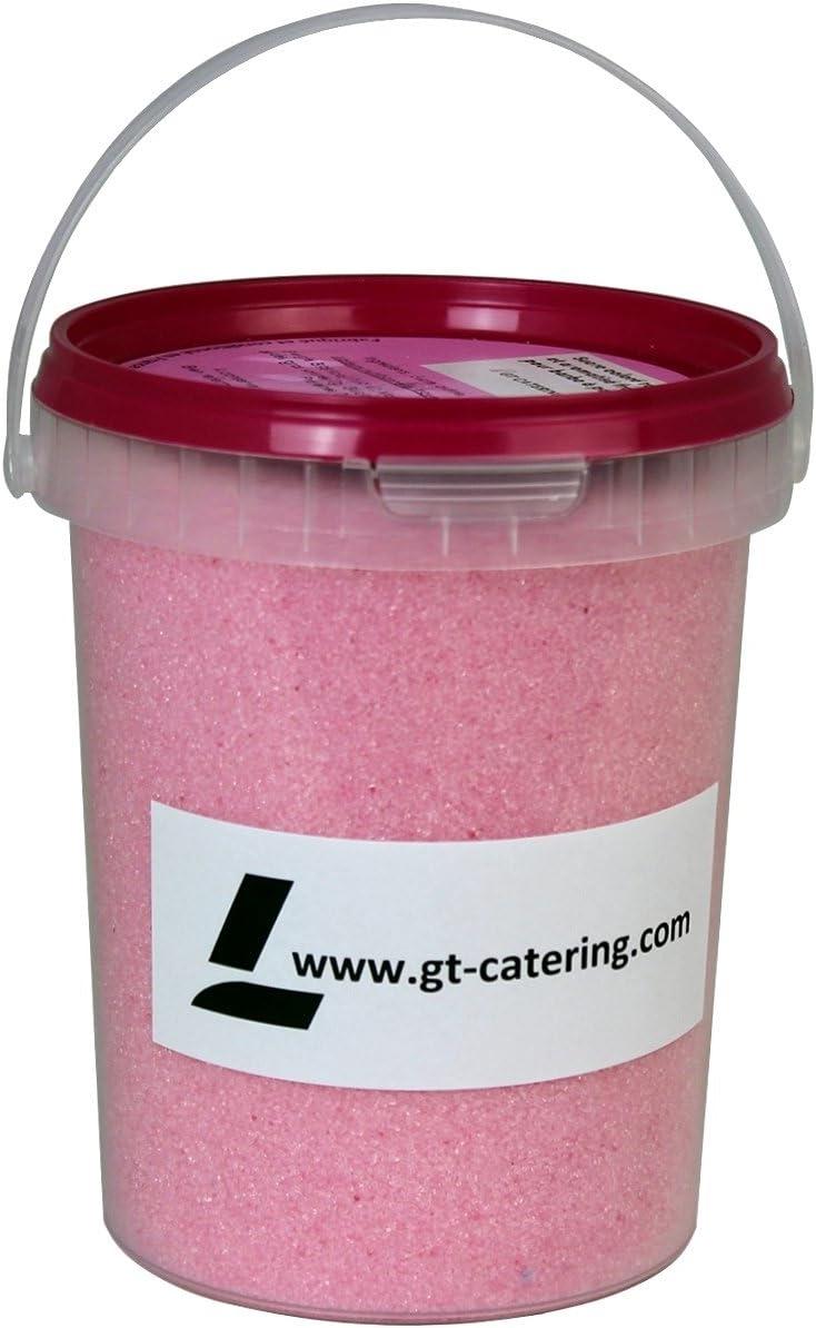 Azúcar para algodón de azúcar, sabor a fresa - 1 kg: Amazon.es: Hogar