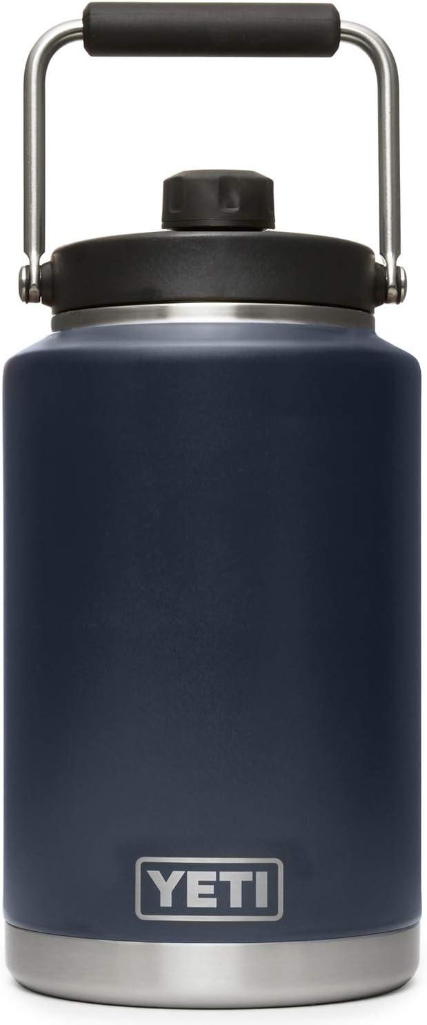 YETI Rambler Gallon Jug, Vacuum Insulated, Stainless Steel with MagCap