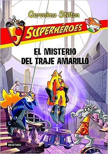 Amazon.com: Superhéroes 6: El misterio del traje amarillo ...
