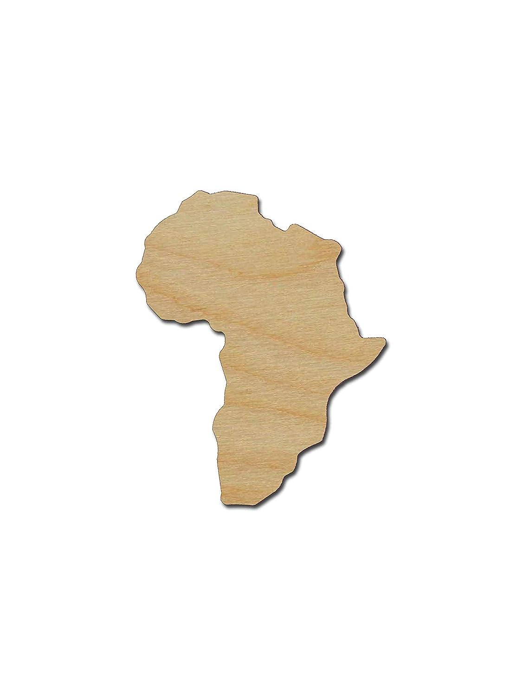 Varie Misure Sagoma in Legno Grezzo Rummy Africa