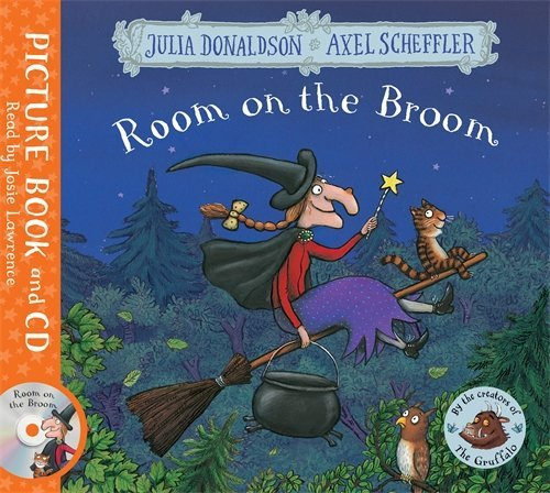 Room on the Broom: Book and CD Pack by Julia Donaldson (2016-06-16) (Samaritan Good Christmas Boxes)