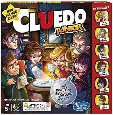 Hasbro Cluedo Junior - Juego de Mesa Infantil - Versión Francesa: Amazon.es: Juguetes y juegos