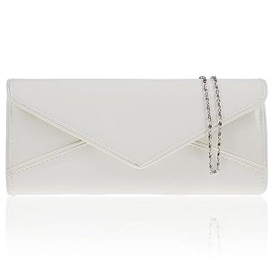 Zarla brevet Pochette de soirée pour femme Mariée enveloppe de sacs bandoulière UK-Neuf - Orange - orange BkV1Ft94WM,