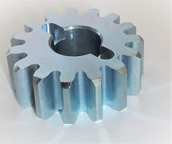 NICE PD0710A0000 - Piñón de engranaje de rueda dentada para deslizadores ROBUS, ROBO, ROX, NAKED SLIDING: Amazon.es: Bricolaje y herramientas