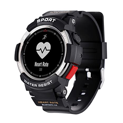 Kivors Relojes Inteligentes Deportivos, IP68 Impermeable Bluetooth Smartwatch Fitness Tracker con Monitor Cardiaco, Múltiples