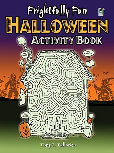 Frightfully Fun Halloween Activity Book (Dover Children's Activity Books)