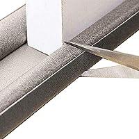 PVC Protector y Guardapolvo para Puerta - RabbitStorm, PVC Tira de Sellado de Ventanas Autoadhesiva, Cubre Polvos para…