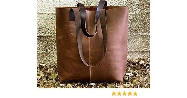 3d24ad5e4d Amazon.com  Limor Galili New Vintage Leather Tote Bag