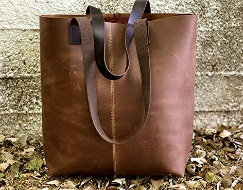 Limor Galili New Vintage Leather Tote Bag, Handbag, Distressed handmade purse by Leather Bags and Accessories Handmade by Limor Galili