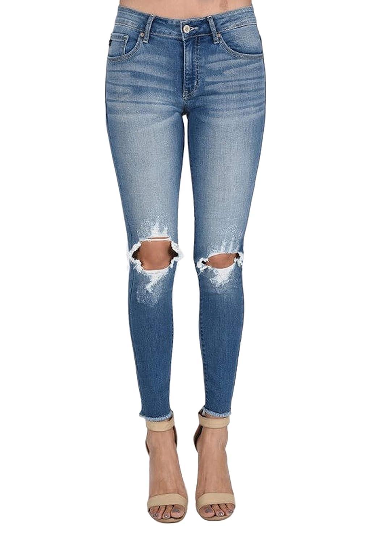 Amazon.com: KanCan Morgan-Savina - Pantalones vaqueros: Clothing