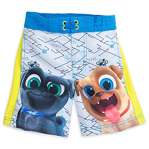 Disney Puppy Dog Pals Swim Trunks For Boys Size 3