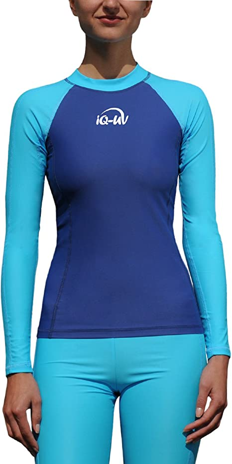 iQ-UV Donna 300/Slim Fit LS Maglietta da Bambino con Protezione UV