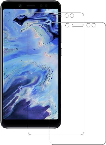 POOPHUNS Cristal Templado Xiaomi Redmi Note 5/Note 5 Pro, 2-Unidades Protector de Pantalla Cristal Vidrio Templado Premium para Xiaomi Redmi Note 5/Note 5 Pro No se despega uellas Dactilares Libre: Amazon.es: Electrónica