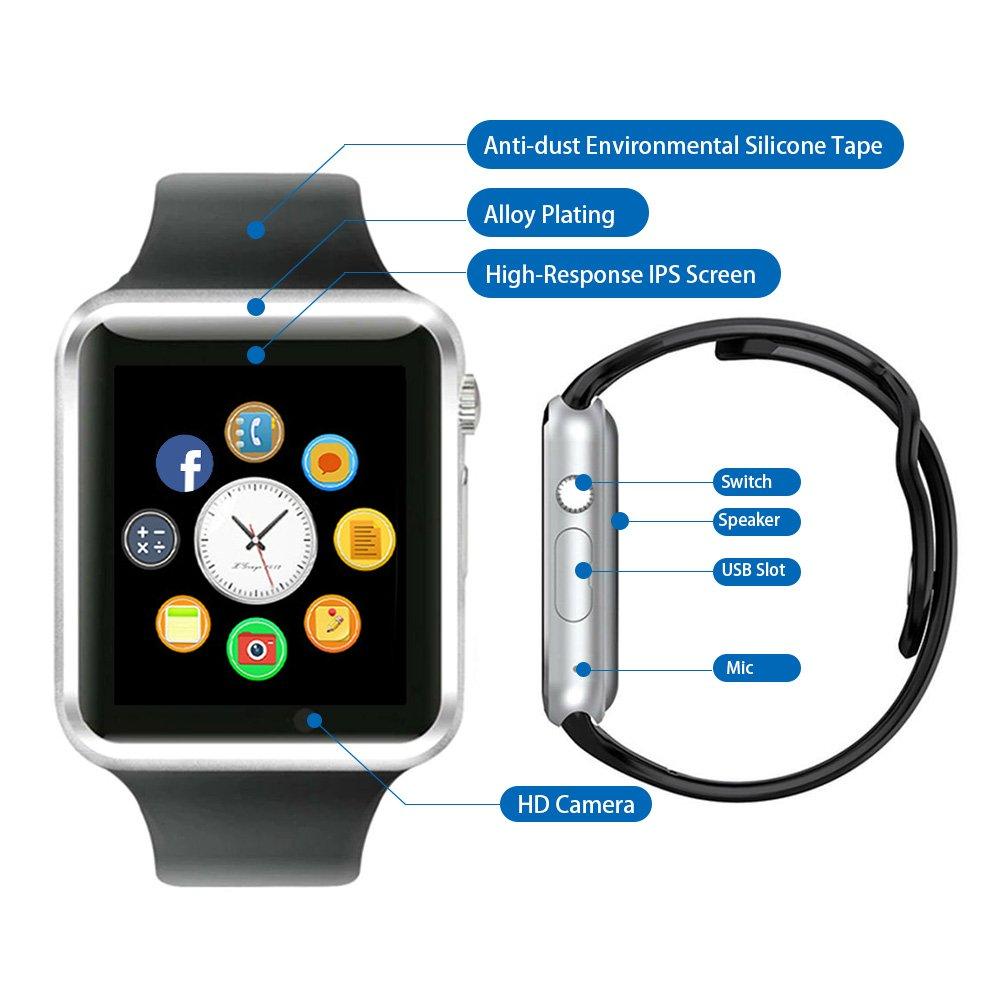 Reloj Inteligente, CulturesIn Pulsera con Pantalla Táctil ...