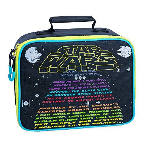 (Star Wars Star Wars Lunch Tote for Kids Black)
