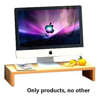 ALH Laptop Stand Ajustable Escritorio Plegable portátil de bambú ...