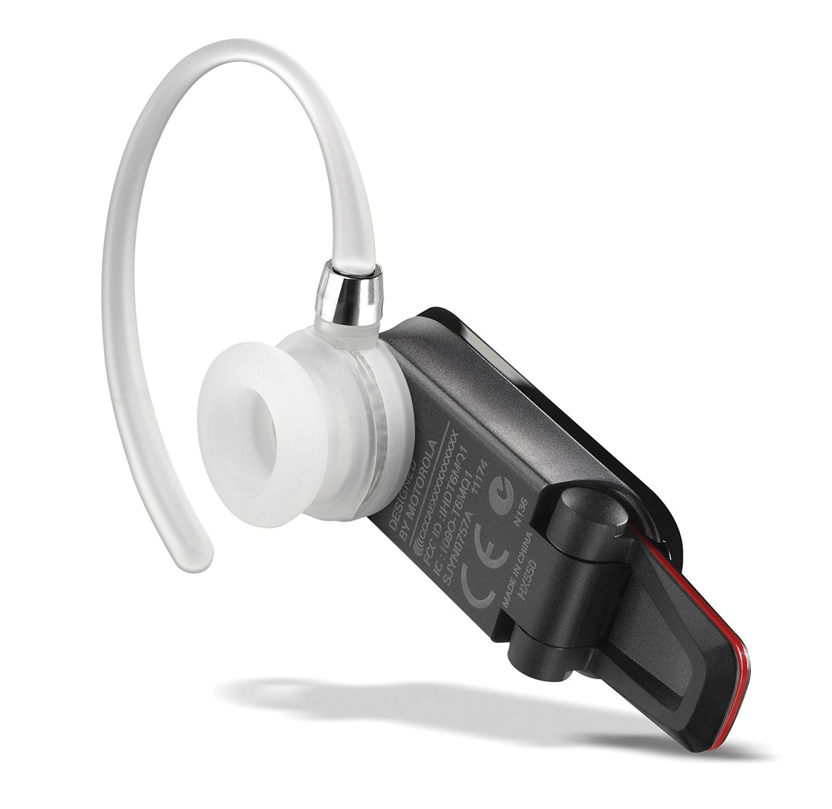 3a1e0d44251 Amazon.com: Motorola HX550 Universal Bluetooth Headset - Retail Packaging -  Black: Cell Phones & Accessories