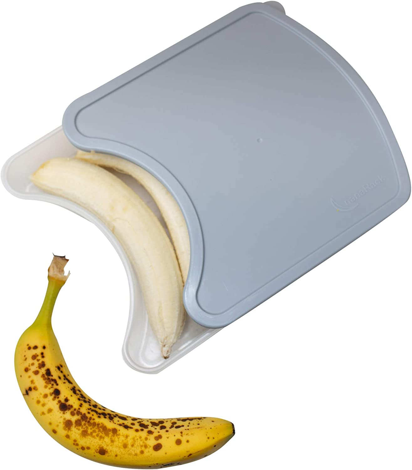 nanaRack Stacker - Frozen Banana Storage - Save Freezer Space - Save Money - Prevent Banana Ice Blocks - Frozen Food/Fruit/Banana Freezer Container