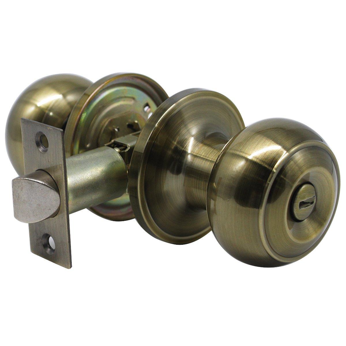 dise/ño vintage Probrico acero inoxidable color bronce envejecido Pomos para puerta de interior y ba/ño