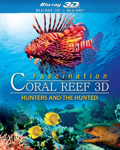 Blu-ray 3D : Fascination Coral Reef: Hunters and the Hunted (Snap Case, Slipsleeve Packaging, 3 Dimensional)