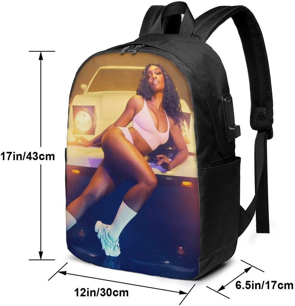YourYarm Sza 17 Inch Laptop Backpack,College Computer Bag for Women /& Men Black