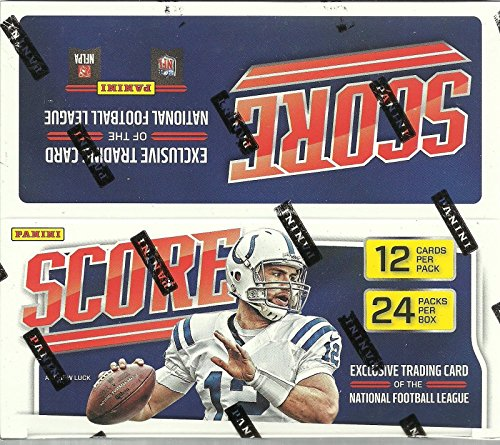 2016 Panini Score NFL Football Retail Box - 24 Packs 12 C...